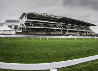 Cheltenham racecourse before OLBG Mares Hurdle race