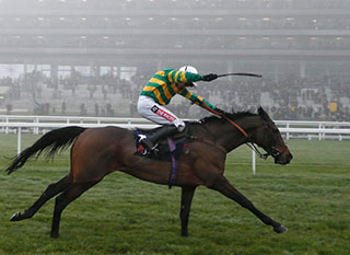 Unowhatimeanharry, one of the favourites of last year's Stayers Hurdle